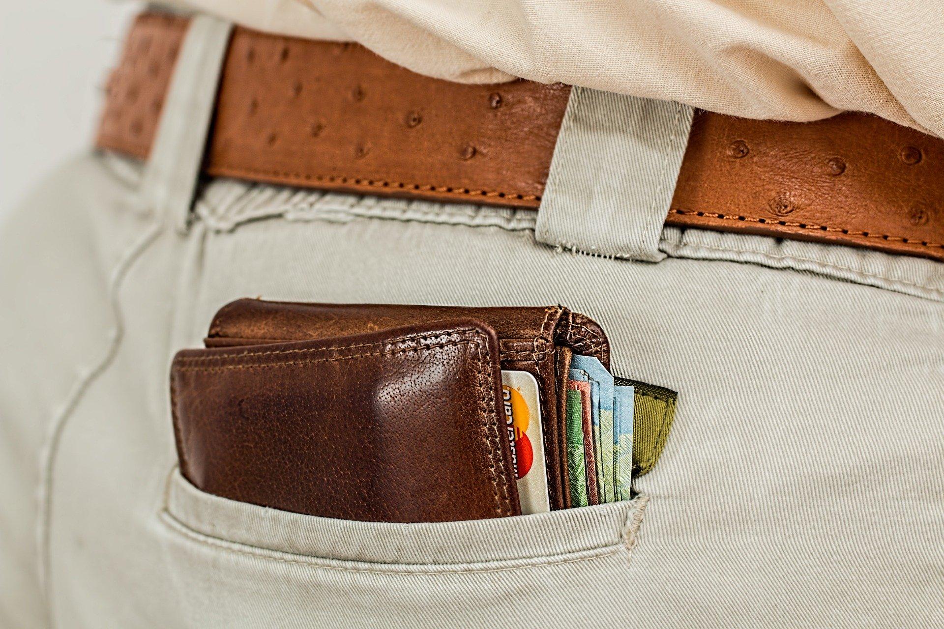 portefeuille épais